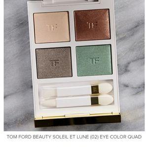 Tom ford eye quad palette color 02 Soleil Et lune